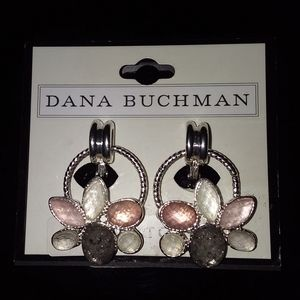Dana Buchman- Clip On Earrings -EZ Comfort Clip